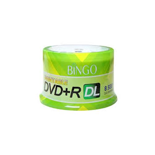 BİNGO 8.5GB 50 li DVD+R CAKE PRINTABLE 240min Boş Dvd