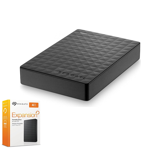 SEAGATE 2.5 EXPANSION 4TB USB 3.0 EXTERNAL HDD SİYAH STEA4000400