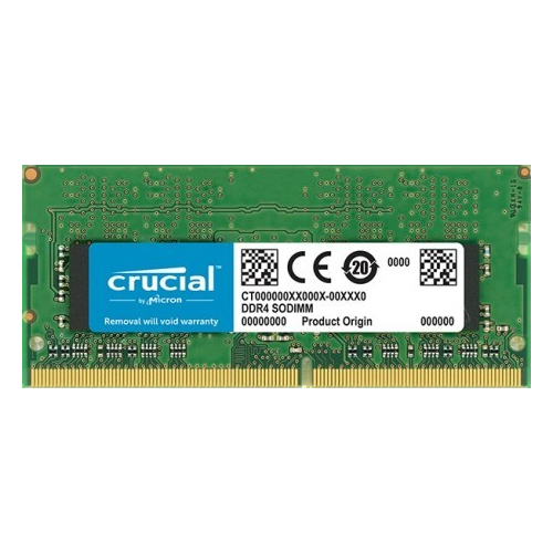 CRUCIAL SRX8 16GB 2666Mhz DDR4 CL15 Notebook Ram CT16G4SFD8266 (1.2V)
