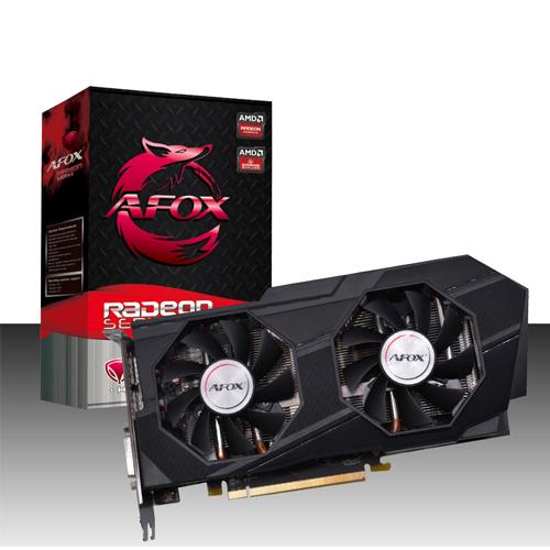 AFOX AMD 8GB RX 570 RADEON GDDR5 256 Bit AFRX570-8192D5H3 HDMI 3xDP DVI