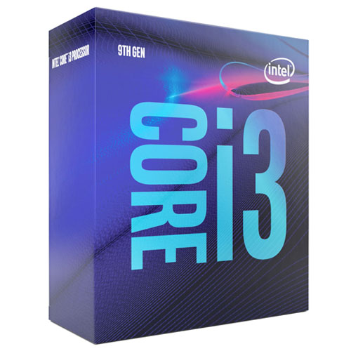 INTEL Core i3 9100 4 3,60 GHz 6MB LGA1151 COFFEELAKE BOX FAN VAR