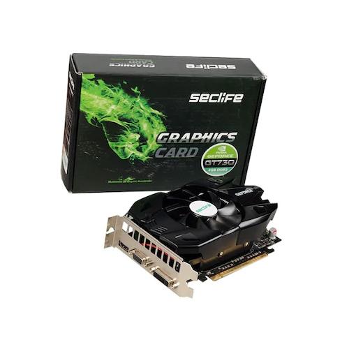 Seclife Nvidia 1GB GT220 GeForce DDR3 128 Bit VGA DVI HDMI LP Single Fan