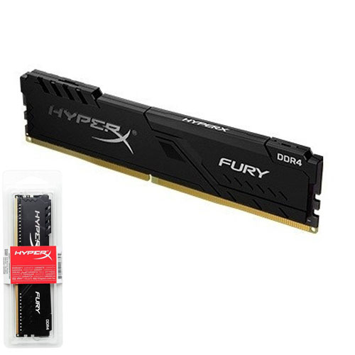 KINGSTON Hyperx Fury 8GB 3200Mhz DDR4 Soğutuculu CL16 Pc Ram HX432C16FB3/8