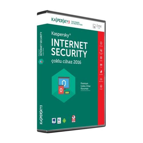 KASPERSKY Internet Security 2016 TR 4 Kullanıcı 1 Yıl