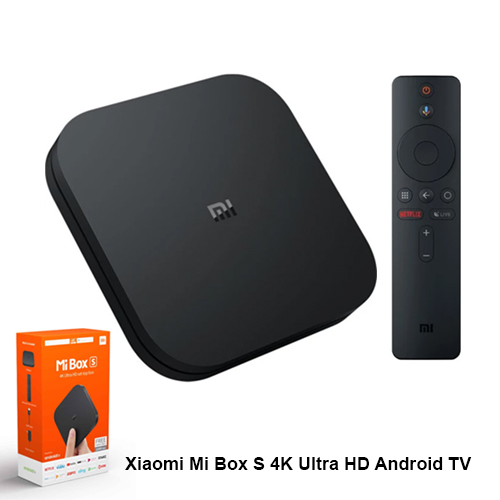 Xiaomi Mi Box S 4K Ultra HD Android TV Box HDR Dolby DTS Chromecast Medya Oynatıcı