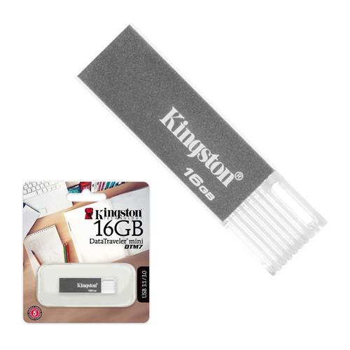 KINGSTON 16GB DataTraveler Metal Usb 3.0 Flash Disk DTM7/16GB