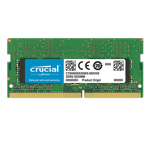 CRUCIAL SRX8 4GB 2666Mhz DDR4 CL19 Notebook Ram CT4G4SFS8266 (1.2V)