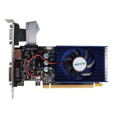 Seclife Nvidia 4GB GeForce GT740 DDR3 128 Bit HDMI DVI VGA