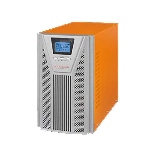MAKELSAN MU03000N11EAV04 POWERPACK SE 3 KVA 1F/1F On Line 5-10 Dk. LCD UPS 6*12V 7AH