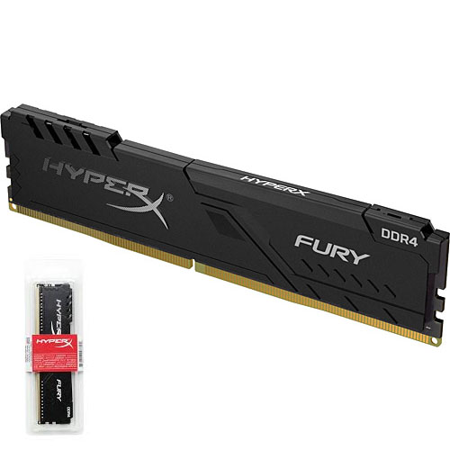 KINGSTON Hyperx Fury 8GB 2666Mhz DDR4 CL16 Pc Ram HX426C16FB3/8