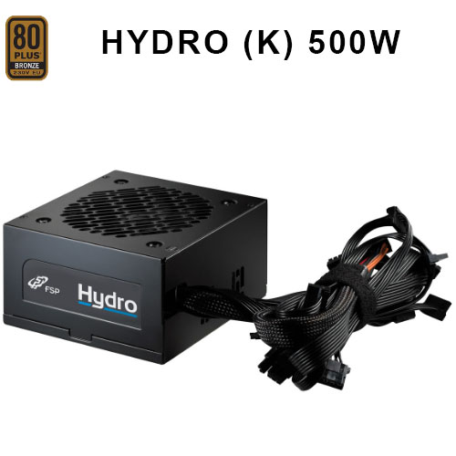 FSP HYDRO K 500W AKTIF PFC 80+ BRONZE Atx Power Supply 120mm Fanlı