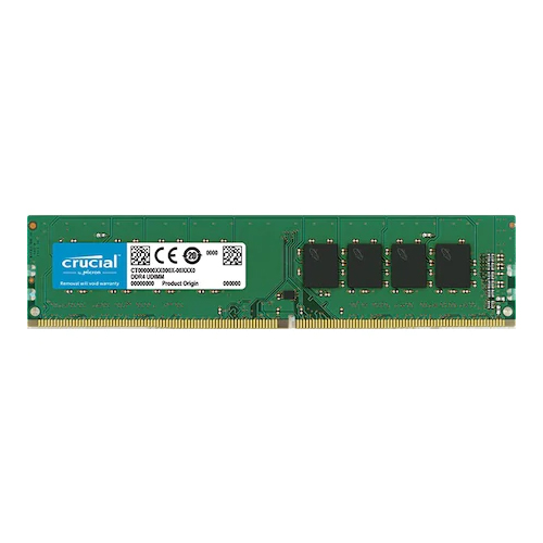 CRUCIAL 16GB 2666Mhz DDR4 CL19 Pc Ram CT16G4DFD8266 (1.2V)