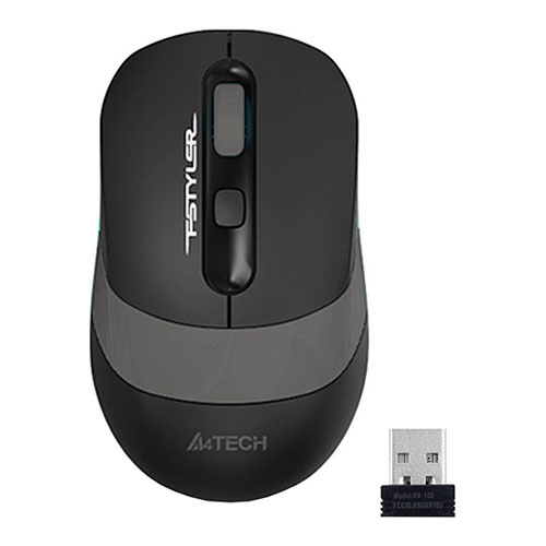 A4 Tech FG10 USB NANO KABLOSUZ OPTIK GRI 2000 DPI MOUSE