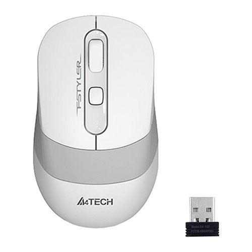 A4 Tech FG10 USB NANO KABLOSUZ OPTIK BEYAZ 2000 DPI MOUSE