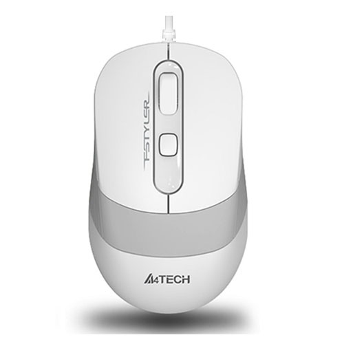 A4 Tech FM10 Usb Fstyler Kablolu Optik Beyaz 1600 Dpı Mouse