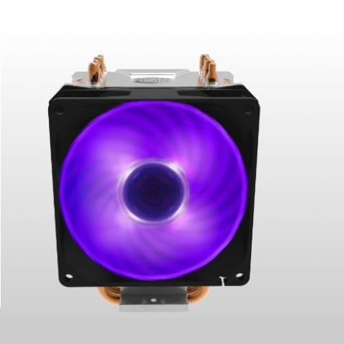 COOLER MASTER Hyper H410R RR-H410-20PC-R1 INTEL  AMD 92mm RGB CPU Soğ. İşlemci Soğutucusu