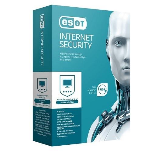 ESET NOD32 Internet Security Türkçe 10 Kullanıcı 1 Yıl Box