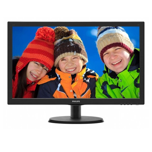 PHILIPS 21.5 223V5LSB2-10 5Ms Analog Led Monitör Parlak Siyah