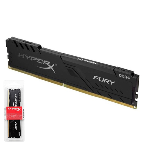 KINGSTON Hyperx Fury 16GB 2666Mhz DDR4 CL16 Pc Ram HX426C16FB3/16