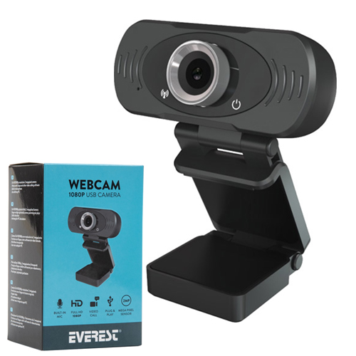 EVEREST SC-HD03 1080P FULL HD USB PC WEBCAM