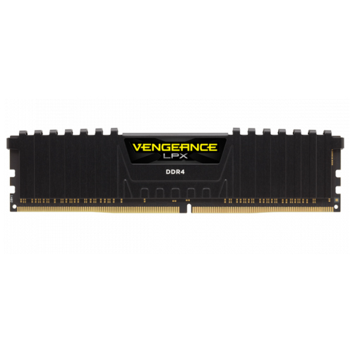 CORSAIR VENGEANCE BLACK LPX GAMING 8GB (1x8GB) 3200Mhz DDR4 Soğutuculu CL16 Pc Ram CMK8GX4M1E3200C16