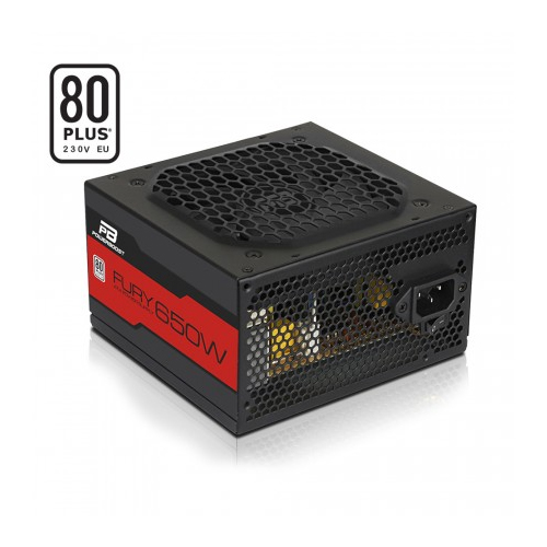 POWERBOOST FURY BST-ATX650WEU 650W 80+ Atx Power Supply 12 Cm Fan Kutulu
