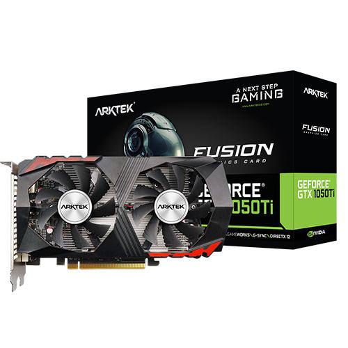ARKTEK Nvidia 4GB GTX1050Tİ DDR5 128 Bit HDMI DVI-D DP 16X (PCIe 3.0)