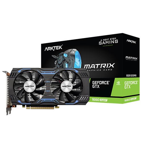 ARKTEK Nvidia 4GB GTX1650 SUPER DDR5 128 Bit HDMI DVI-D DP 16X (PCIe 3.0)