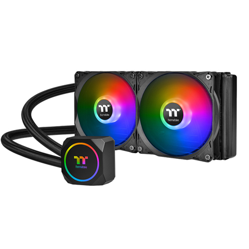 THERMALTAKE TH240 CL-W286-PL12SW-A İntel/AM4 ARGB Led Fanlı 240mm Sıvı Soğutma Sistemi