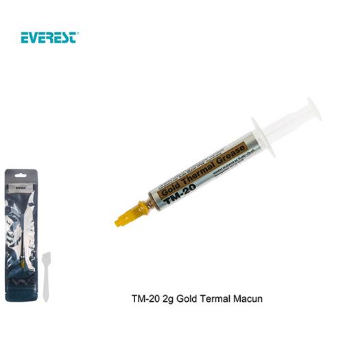 EVEREST TM-20 2 gr Gold Termal Macun