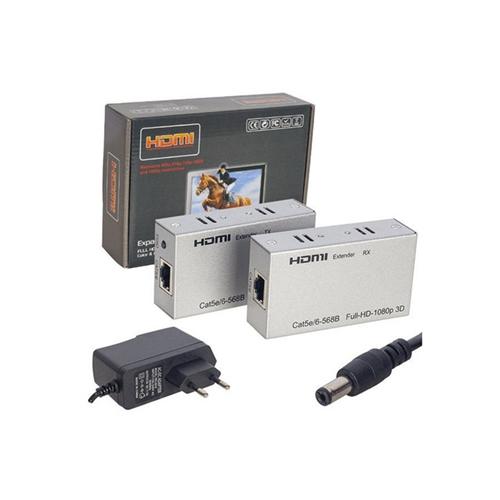 Hytech HY-HDEX60 HDMI Extender CAT6 60 cm Uzatıcı