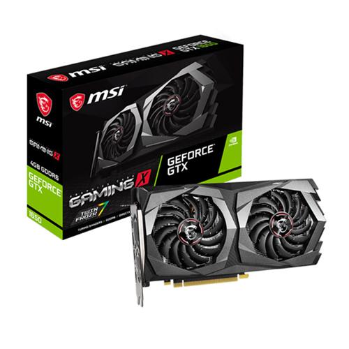 MSI 4GB GTX1650 GeForce GDDR6 128 Bit GTX1650 D6 GAMING X 4GB 1XHDMI 2XDP DX12 PCIE 3.0 X16