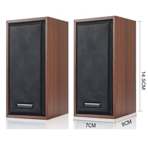 SNOPY SN-385 1+1 5V 80dB 2.5 3W Ahşap Speaker