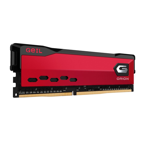 GEIL Orion Red 8GB 3000Mhz DDR4 Soğutuculu CL16 Gaming PC Ram GAOR48GB3000C16ASC (1.35V)