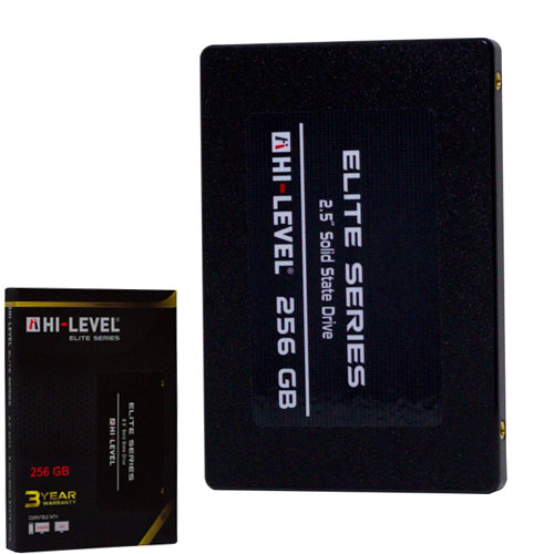HI-LEVEL Elite Serisi 2.5 256GB SSD SATA3 560/540 HLV-SSD30ELT/256G