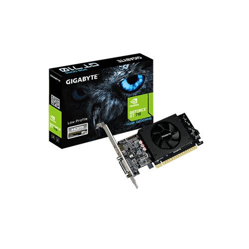 GIGABYTE Nvidia 1GB GT710 DDR3 64 Bit GV-N710D5-1GL HDMI DVI