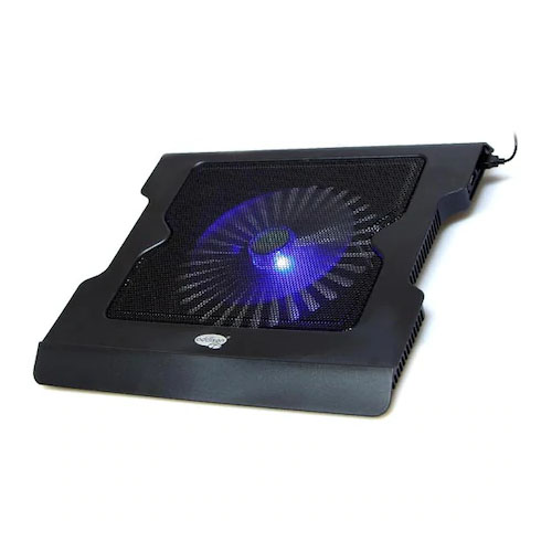 ADDISON ANC-40D 10 - 15,6 Özel Dizayn Stant + 2 X Usb Port Ayarlanabilir Notebook Soğutuc Siyah