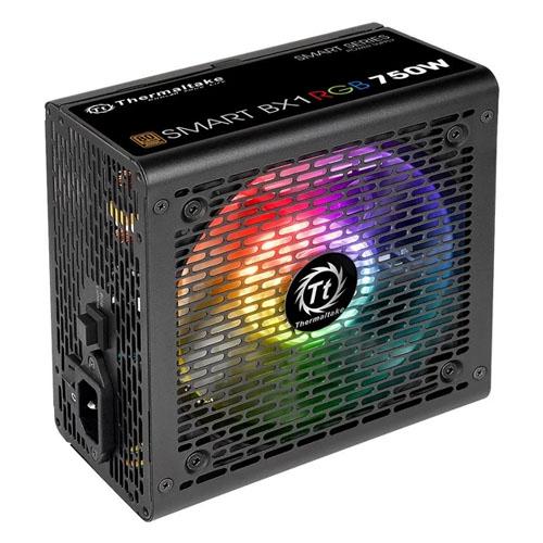 THERMALTAKE Smart BX1 750W 80+ Bronze 12cm RGB Led Fanlı Power Supply