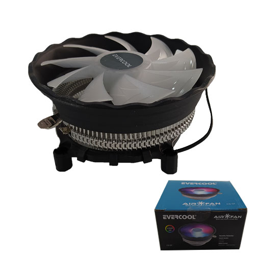 EVERCOOL CS-01 AMD/775/1150/1151/1155/1156 3 pin CPU Fan