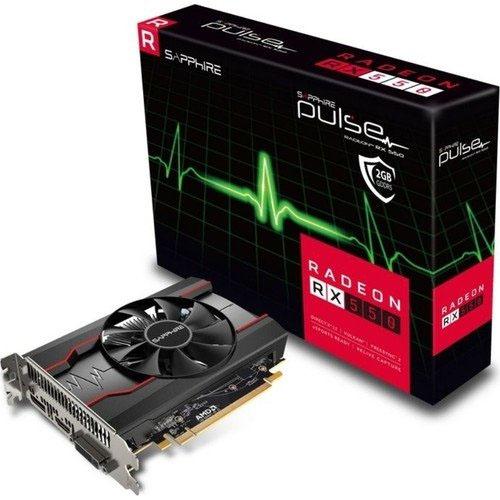 SAPPHIRE AMD 2GB RX 550 PULSE GDDR5 64 Bit 11268-21-20G HDMI DVI
