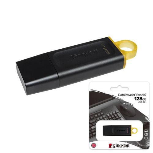 KINGSTON 128GB DataTraveler Exodia USB 3.2 Gen 1 Flash Bellek DTX/128GB