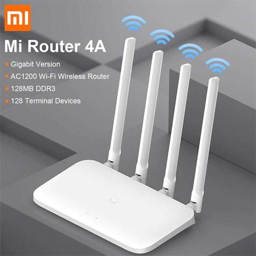Xiaomi Mi WİFİ AC 1200 Router 4A 1200Mbps Gigabit 2,4g 5G Çift Bant 4 Anten