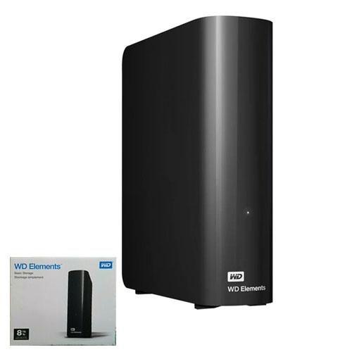 WD 3.5 ELEMENTS 8TB USB 3.0 EXTERNAL HDD SİYAH WDBWLG0080HBK-EESN