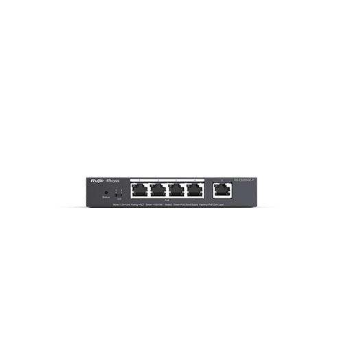 RUIJIE Reyee 5 Port RG-ES205GC-P 10/100/1000 Yönetilebilir 4x PoE PoE+ Switch (54W)