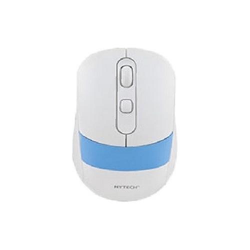 Hytech HY-M96 2,4 GHz kablosuz Usb Nano Alıcılı Beyaz/Mavi Mouse