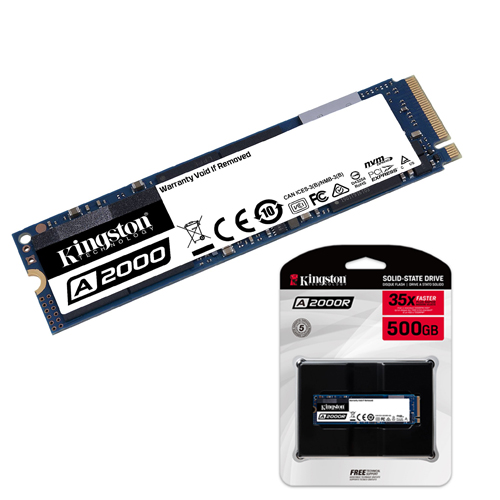 KINGSTON A2000 1TB SSD M.2 NVMe PCIe 2200 2000MB/S SA2000M8/1000G