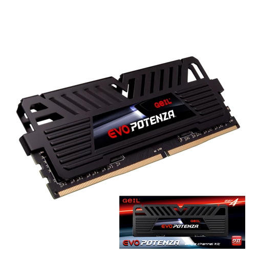 GEIL Evo Potenza AMD Edition 16GB 3200Mhz DDR4 CL16 Gaming PC Ram GAPB416GB3200C16BSC (1.35V)