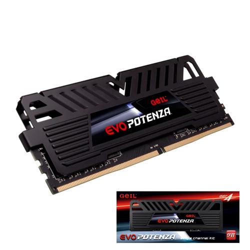 GEIL Evo Potenza AMD Edition 16GB DDR4 3200Mhz CL16 Gaming PC Ram GAPB416GB3200C16BSC (1.35V)