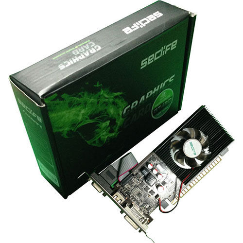 Seclife Nvidia 2GB Geforce GT610 DDR3 64 Bit HDMI DVI VGA LP Single Fan