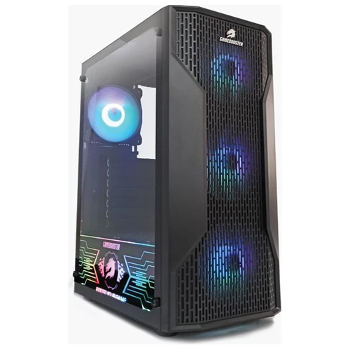PowerBoost GB-G3309B 550W 80+ . Siyah USB 3.0, Mesh, RGB Fan Atx Kasa